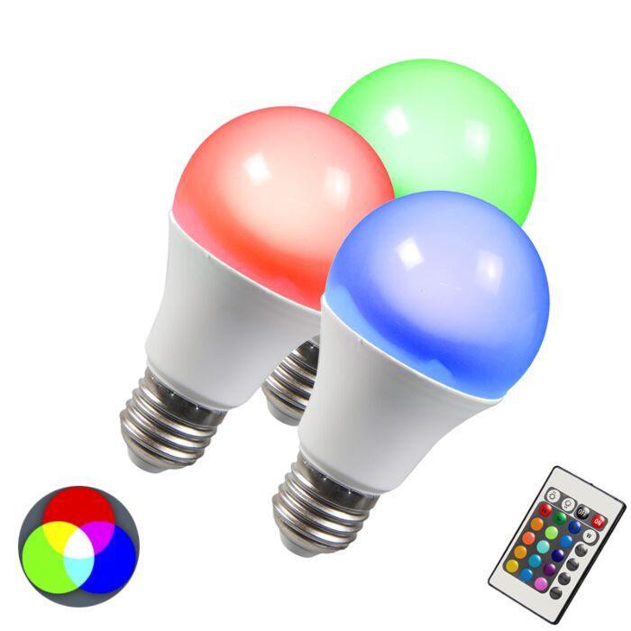 LED-žarulja-RGB-E27-3W-set-od-3-komada