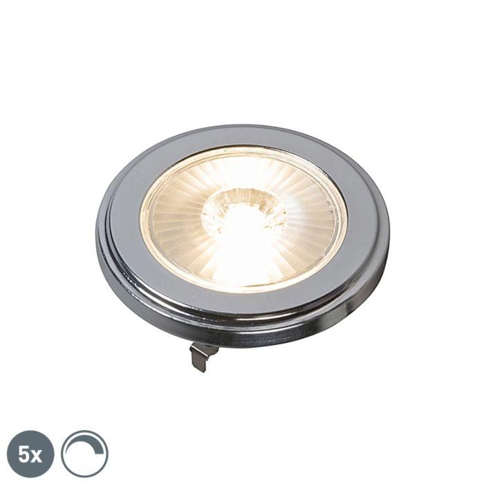 Komplet-od-5-G53-prigušivih-LED-svjetiljki-AR111-10W-800LM-3000K