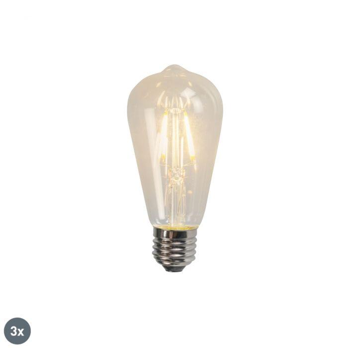 Komplet-od-3-E27-LED-žarulje-sa-žarnom-niti-ST64-4W-320lm-2700K