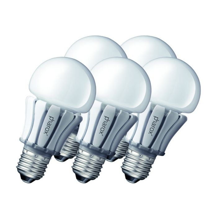 Set-od-5-Pharox-LED-svjetiljki-400-E27-8W-230V
