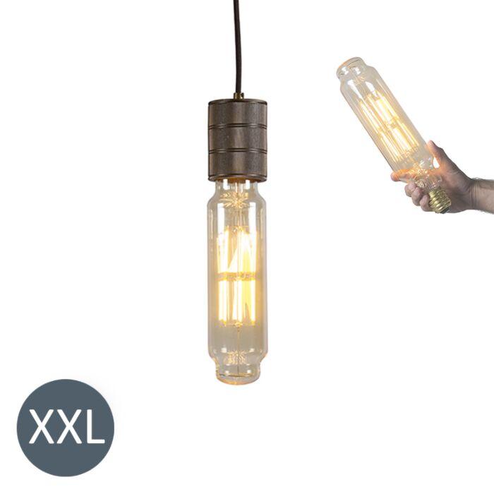 Viseća-svjetiljka-Tower-brončana-s-LED-lampom-koja-se-može-zatamniti