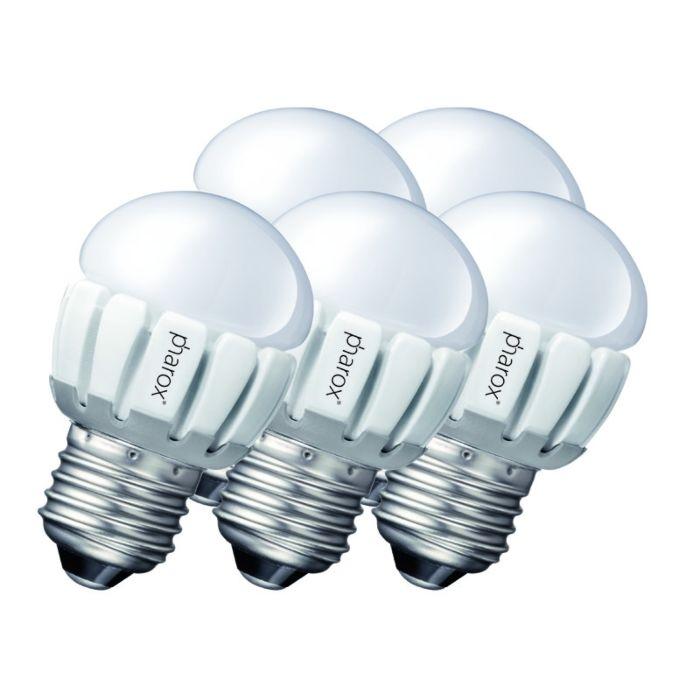 Set-od-5-Pharox-LED-200-P45-E27-5W-230V