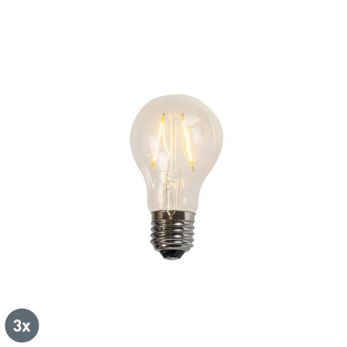 Komplet-od-3-LED-žarulje-sa-žarnom-niti-A60-2W-2200K-prozirne