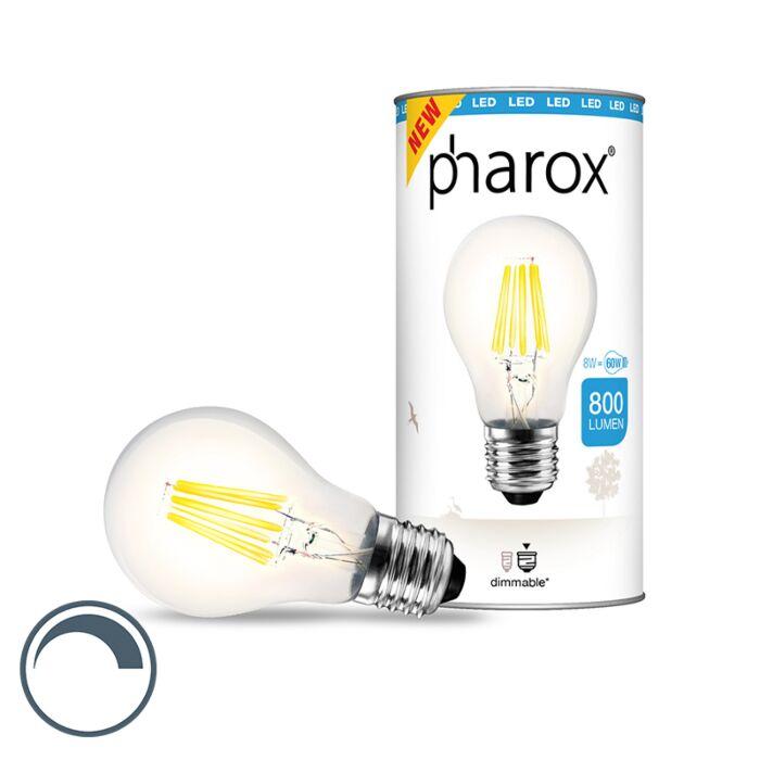 Pharox-LED-svjetiljka-prozirna-E27-8W-800-lumena