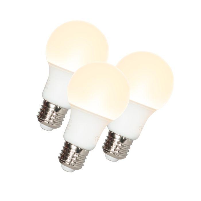 Komplet-od-3-LED-svjetiljke-A60-E27-9W-3000K