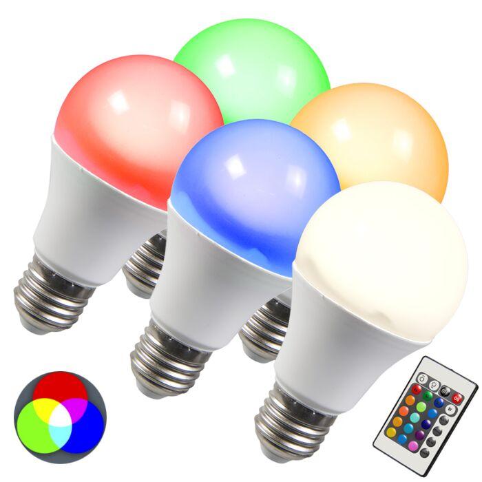 LED-žarulja-RGB-E27-10W-ekstra-toplo-bijela-set-od-5-komada