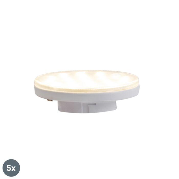 Komplet-od-5-GX53-LED-lampica-s-3-stupnja-prigušivosti-3W-350-lm-3000K