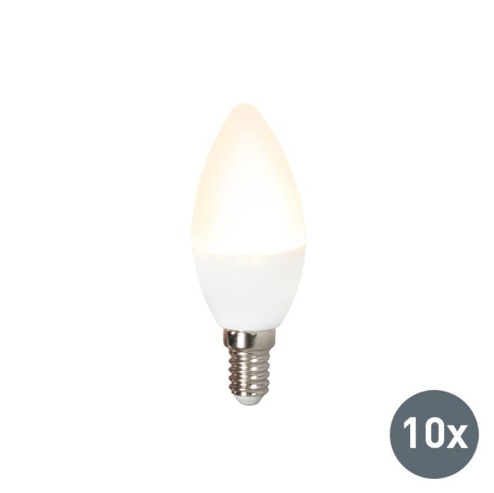 Komplet-od-10-LED-svjetiljki-C37-E14-3W-3000K
