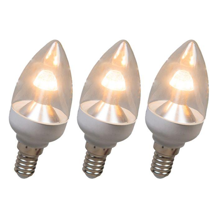 LED-svjetiljka-za-svijeće-E14-4W-250-lumena-toplo-bijela-Komplet-od-3-svjetla