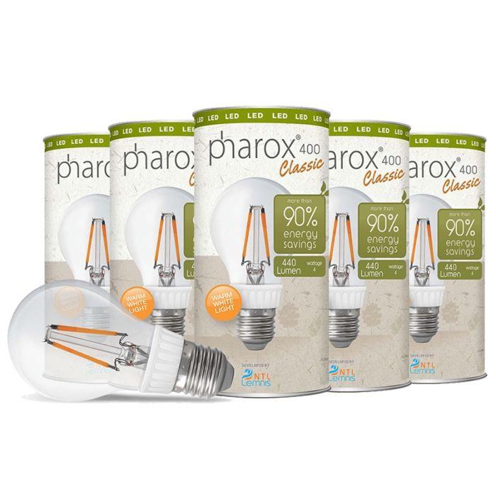 Pharox-LED-svjetiljka-400-Classic-E27-4W-set-od-5-komada