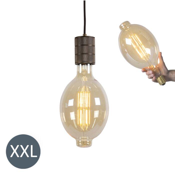 Viseća-svjetiljka-Koloseum-s-LED-lampom-koja-se-može-zatamniti
