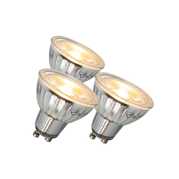 GU10-LED-svjetiljka-7W-500LM-3000K-zatamnjiva-set-od-3