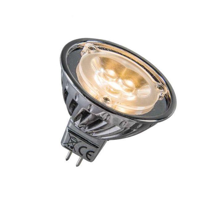 LED-za-napajanje-12V-MR16-3-x-1W-=-približno-30-W-toplo-bijele-boje