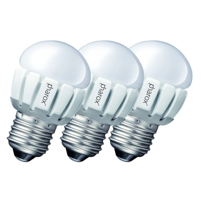 Set-od-3-Pharox-LED-200-P45-E27-5W-230V
