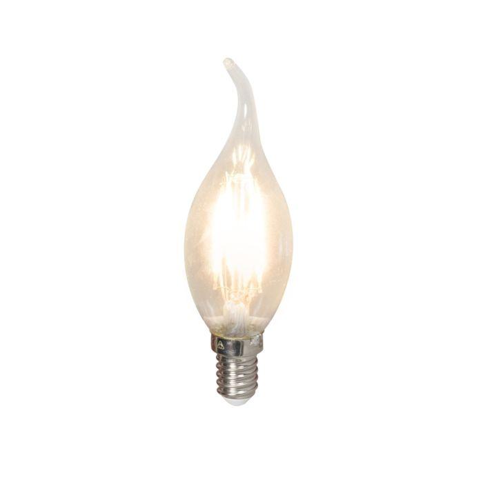LED-svjetiljka-s-vrhom-žarne-niti-E14-240V-3,5-W-350lm-BXS35-prigušiva