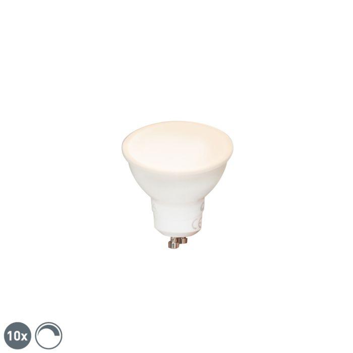 Komplet-od-10-GU10-LED-žarulja-s-prigušivanjem-6W-450-lm-2700K