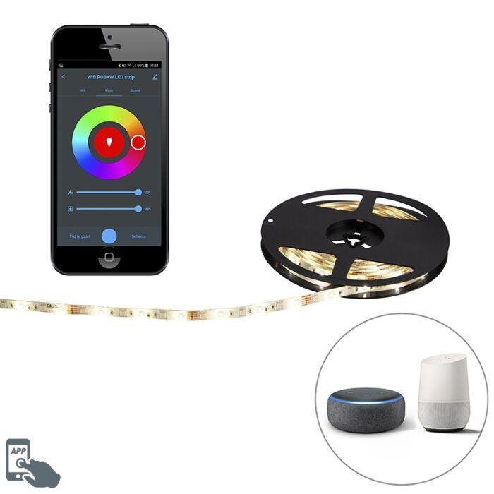 Pametna-LED-traka-RGBW-5-metara-24W-sa-upravljačkim-programom