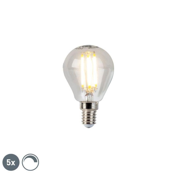 Komplet-od-5-E14-kugličnih-svjetiljki-sa-žarnom-niti-E14-5W-470lm-2700K