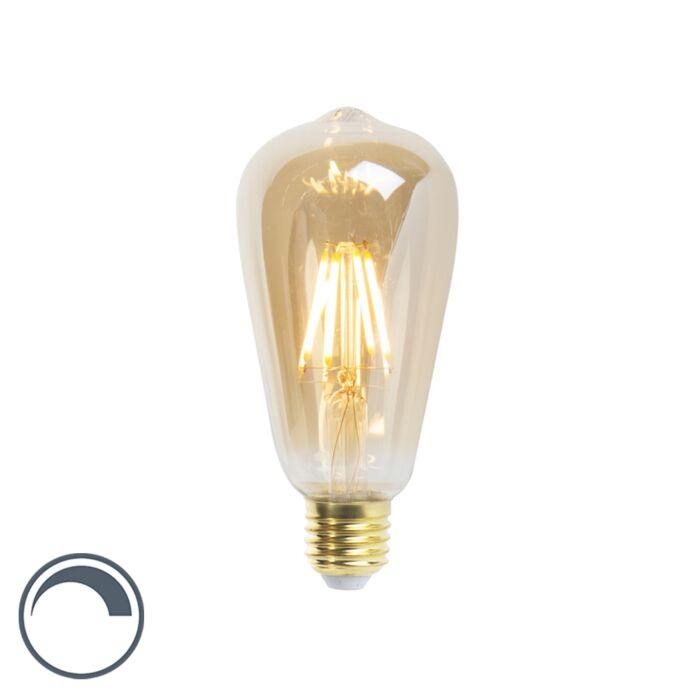 LED-žarulja-sa-žarnom-niti-ST64-E27-5W-360-lumena-2200K-zatamnjiva