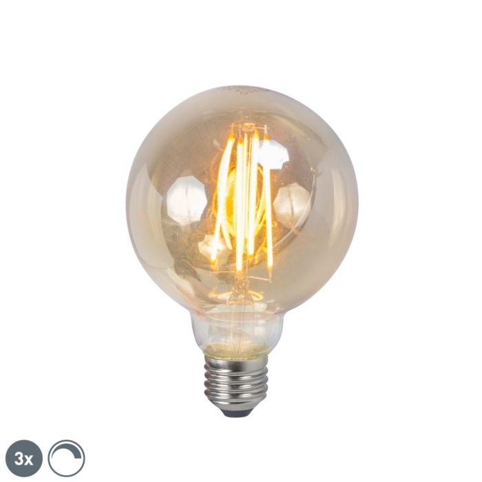 Komplet-od-3-LED-žarulje-sa-žarnom-niti-E27-5W-2200K-G95-prigušiva-dim