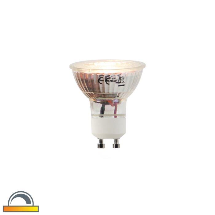 LED-svjetiljka-GU10-5W-360-lumena-2000-2700K-Zatamnjena-do-topla