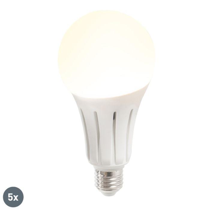 Set-od-5-LED-svjetiljki-B80-24W-E27-toplo-bijela