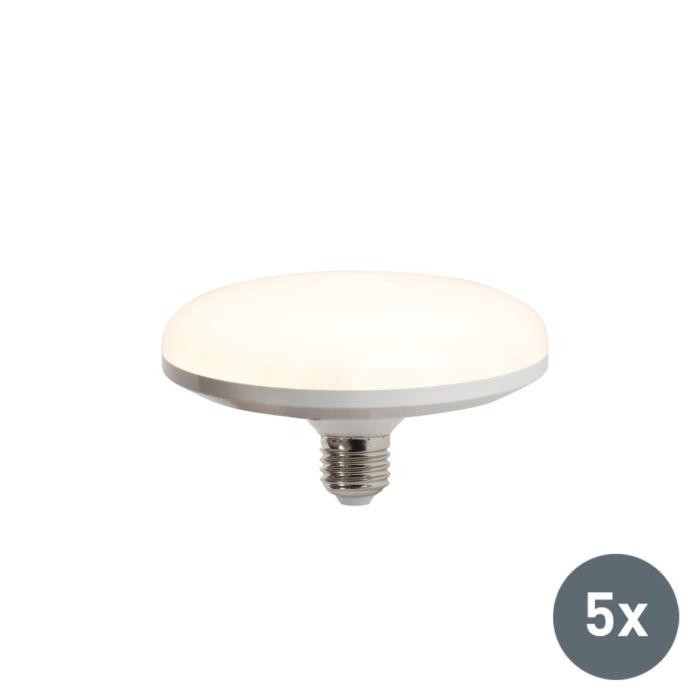 Komplet-od-5-LED-svjetiljki-UFO-E27-18W-toplo-bijela