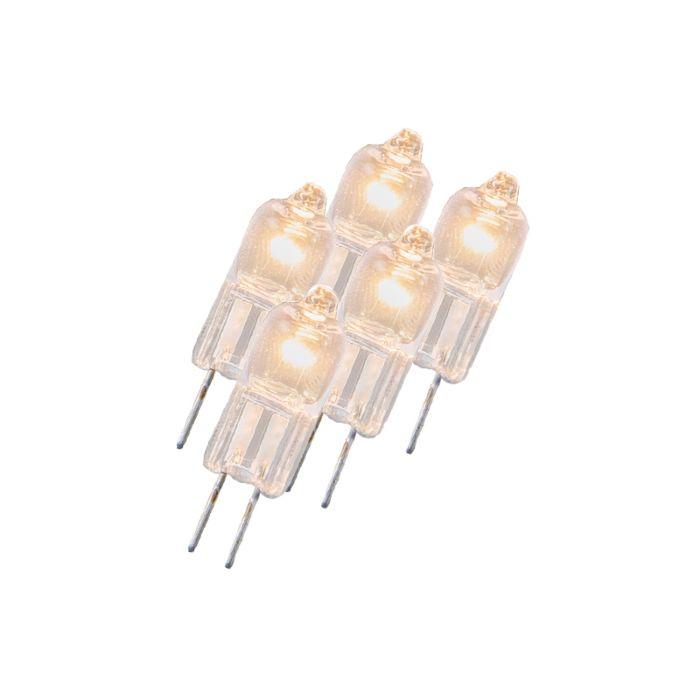Komplet-od-5-halogenih-svjetiljki-G4-5W-12V-prozirno