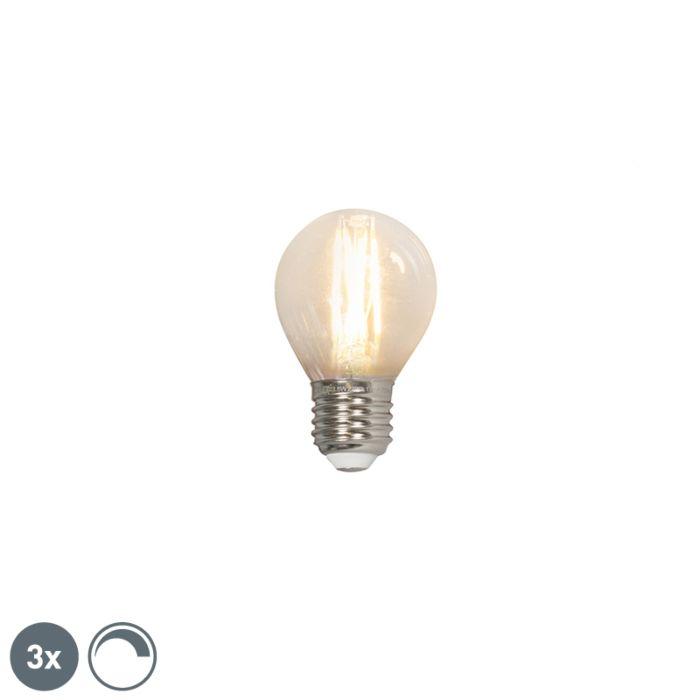 Komplet-od-3-LED-kuglične-žarulje-sa-žarnom-niti-E27-240V-3,5W-350lm-P45-za-zatamnjenje