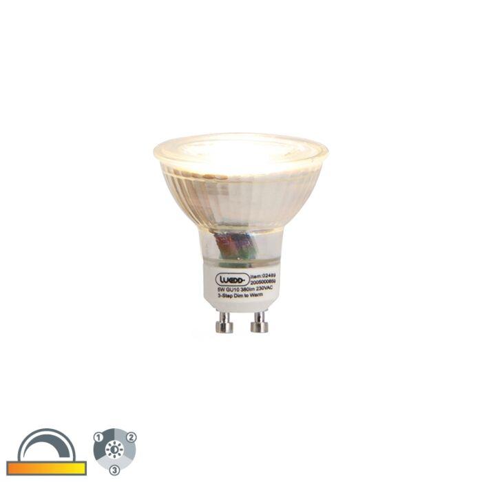GU10-LED-u-tri-koraka-prigušena-i-topla-LED-žarulja-5w-380-lm-2000-2700K