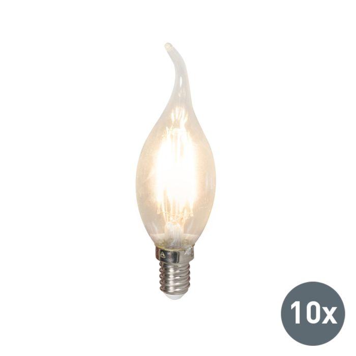 Komplet-od-10-LED-svjetiljki-sa-žarnom-niti-E14-240V-3,5W-350lm-BXS35,-prigušivo