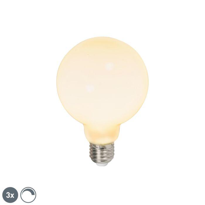 Komplet-od-3-LED-svjetiljke-globus-E27-240V-6W-650lm-prigušivo