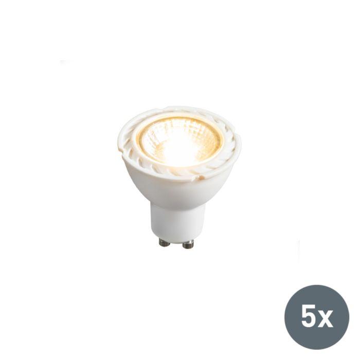 Komplet-od-5-LED-svjetiljki-GU10-240V-7W-2700K-prigušivo