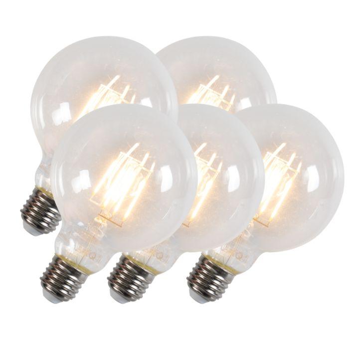 Komplet-od-5-LED-žarulja-sa-žarnom-niti-G95-E27-6W-600-lumena