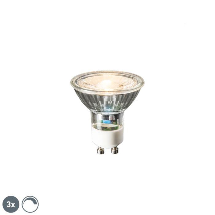Komplet-od-3-GU10-LED-žarulje-6W-450-lumena-2700K-prigušive