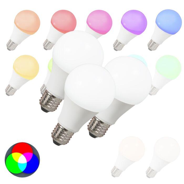 Komplet-od-3-LED-žarulje-E27-240V-7W-500lm-A60-Smart-Light