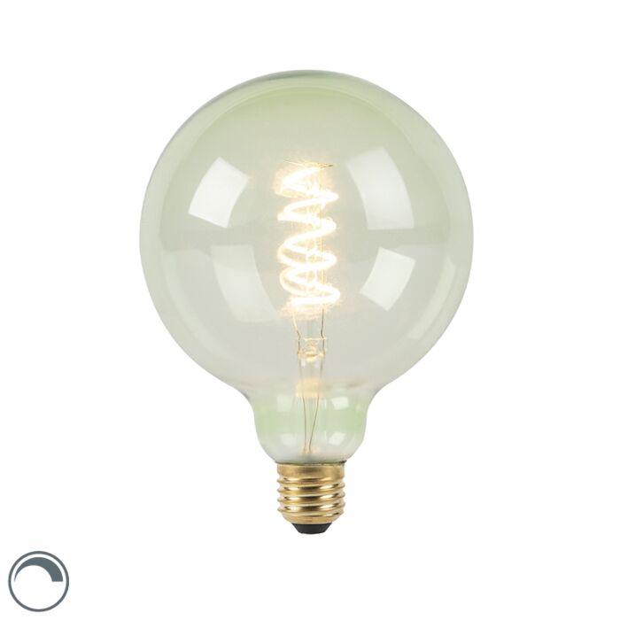 E27-prigušljiva-LED-spiralna-žarulja-sa-žarnom-niti-G125-zelena-200-lm-2100K