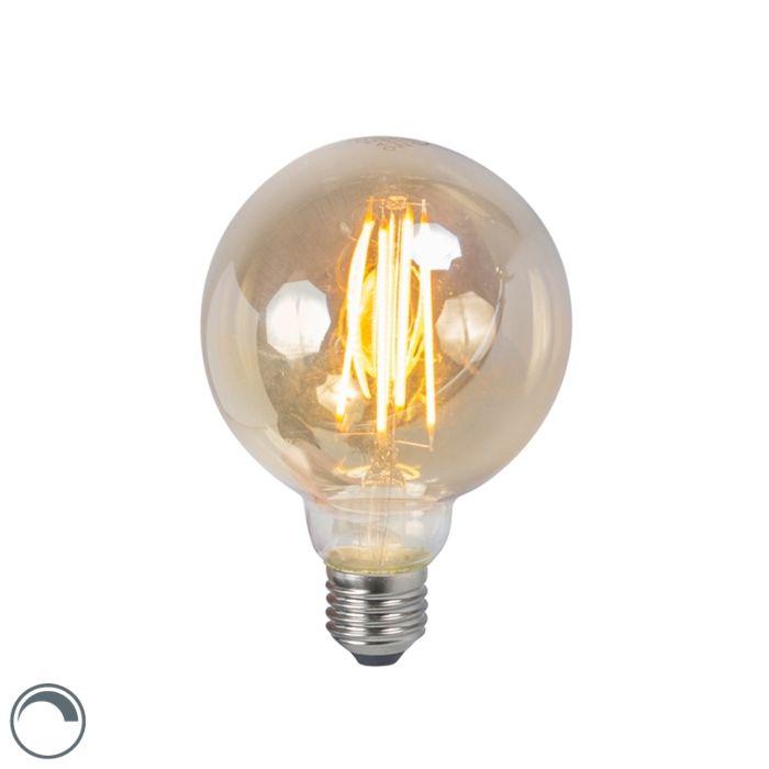 LED-žarulja-sa-žarnom-niti-E27-5W-2200K-G95-dim,-prigušiva