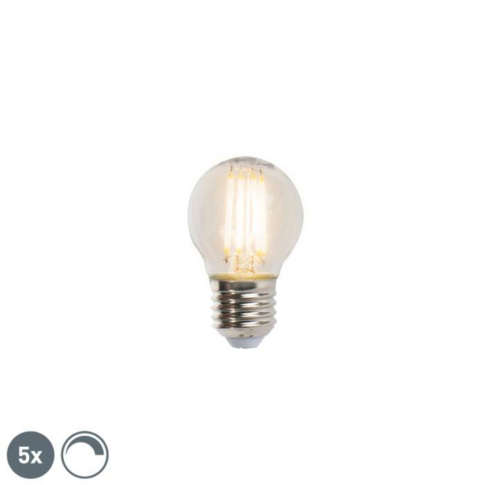 Set-od-5-E27-kugličnih-svjetiljki-sa-žarnom-niti-E27-5W-470lm-2700K