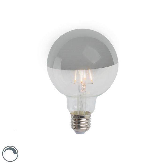 LED-ogledalo-sa-žarnom-niti-s-žarnom-niti-srebrno-E27-240V-4W-280lm-2300K-G95-zatamnjivo