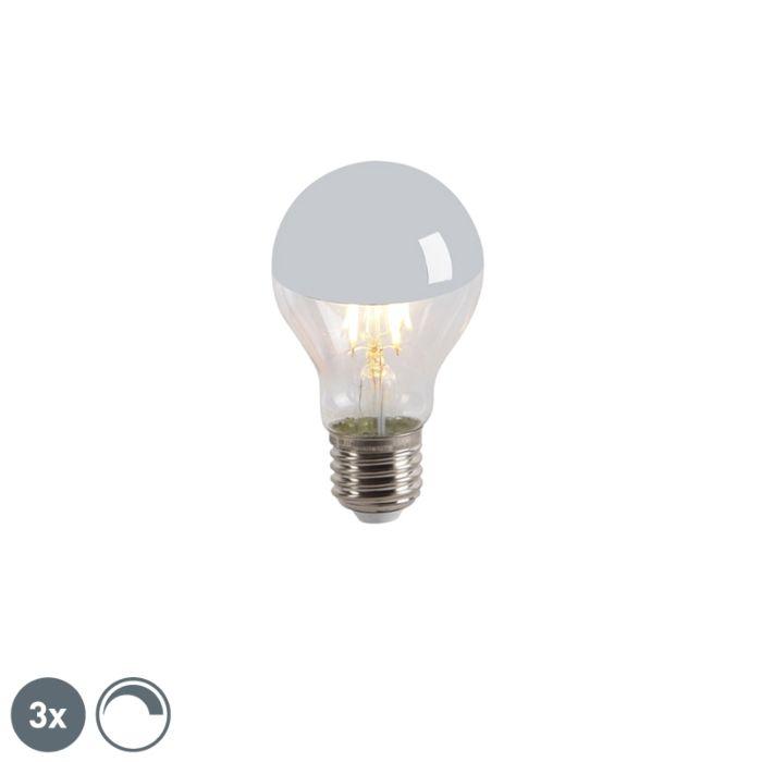 Komplet-od-3-LED-ogledala-s-žarnom-niti-s-žarnom-niti-E27-240V-4W-300lm-A60-za-zatamnjenje