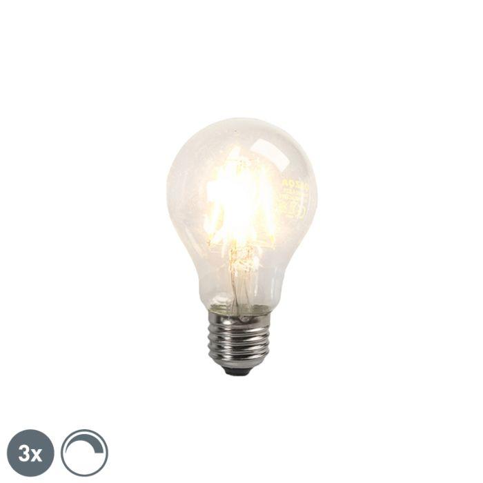 Komplet-od-3-LED-žarulje-sa-žarnom-niti-E27-4W-390lm,-prigušive