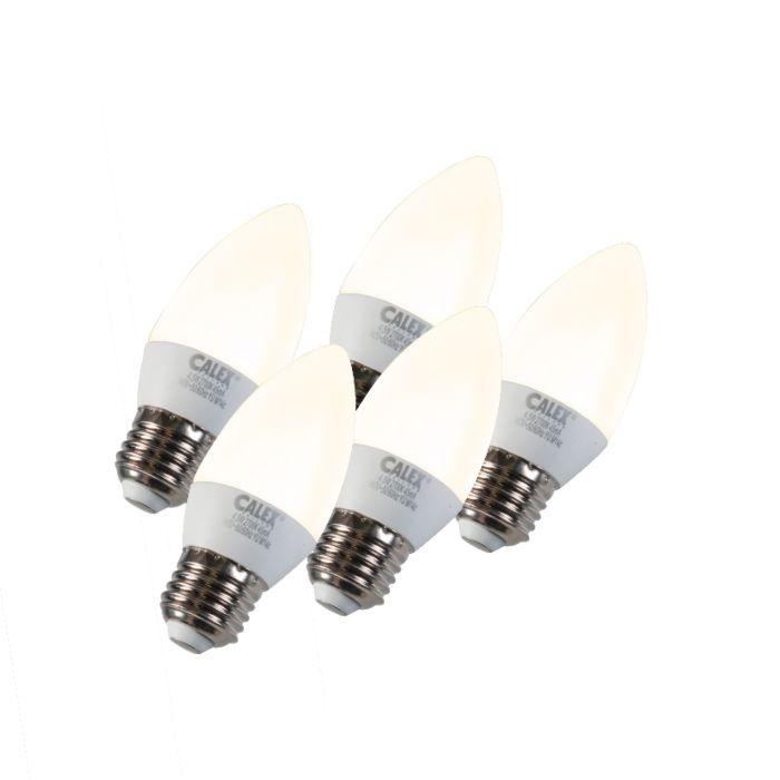 Komplet-od-5-svjetiljki-za-svijeće-LED-E27-5W-240V-2700K-prigušivo