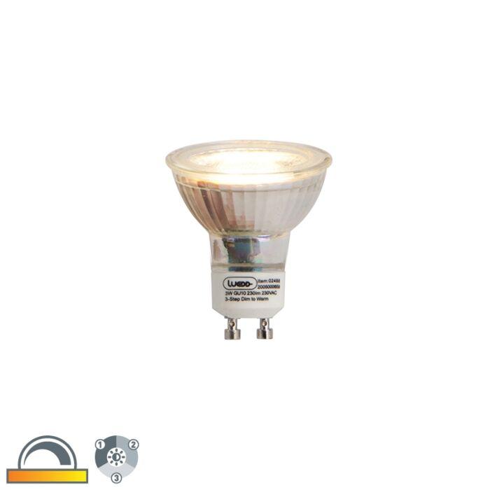 GU10-Prigušivanje-u-3-koraka-u-Kelvin-LED-svjetiljci-3W