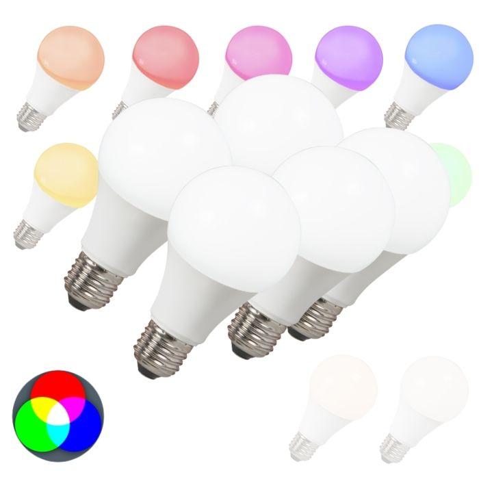 Komplet-od-5-LED-žarulja-E27-240V-7W-500lm-A60-Smart-Light