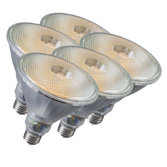 Komplet-od-5-svjetiljki-Par38-E27-20W-800LM-2700K