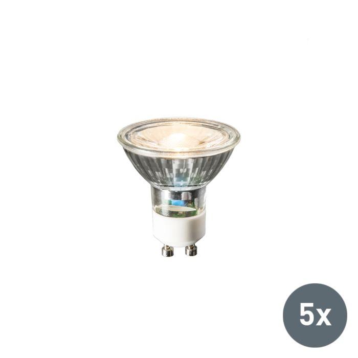 Komplet-od-5-GU10-LED-žarulja-240V-3W-230lm-toplo-bijela