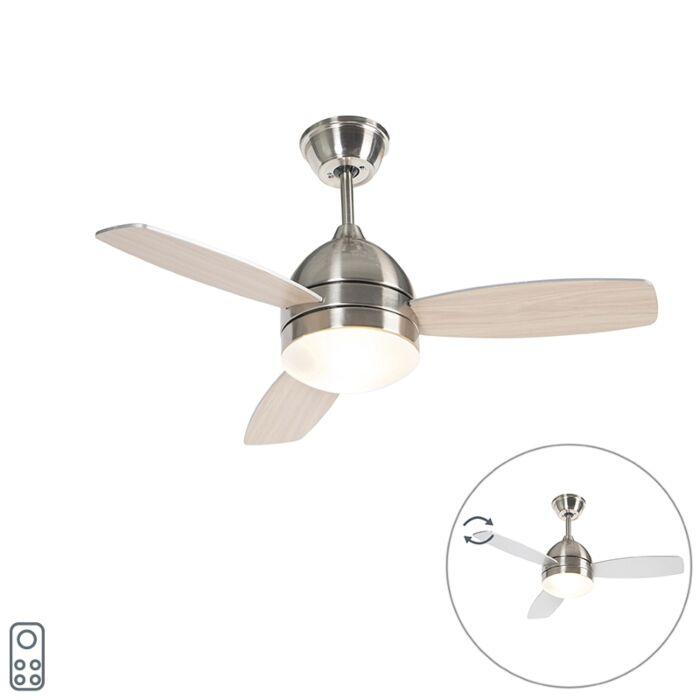 Stropni-ventilator-čelik-s-daljinskim-upravljačem---Rotar