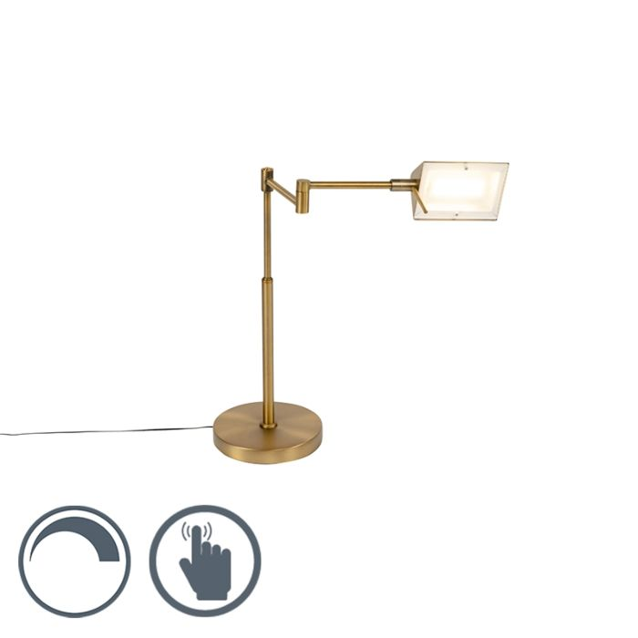Dizajn-stolne-svjetiljke-brončana-s-LED-diodom-s-dimerom---Notia