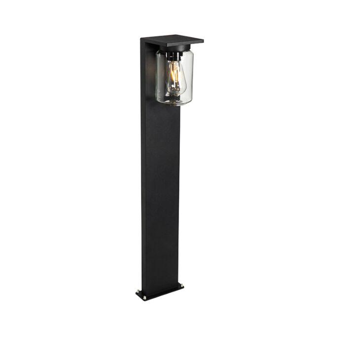 Moderna-stojeća-vanjska-svjetiljka-crna-90-cm-IP54---Marshall